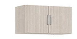 1.05 Антресоль двухдверная  840х386х380 серия Лотос