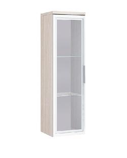 17.17 Шкаф со стеклом 422х1048х385 серия Модерн