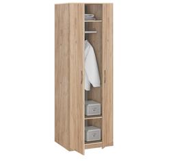 19.020 Шкаф для одежды, Лофт, 840х2380х540 мм.