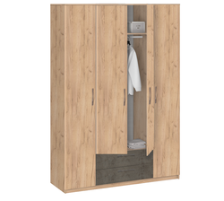 19.041 Шкаф для одежды без зеркала, Лофт, 1675х2380х540 мм.