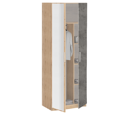 19.10Z Шкаф для одежды с зеркалом, Лофт, 842х2010х385 мм.