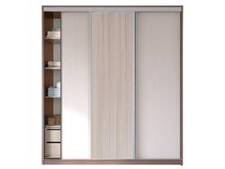 Шкаф-купе 3-х дверный с 2-мя зеркалами 2100х458/600х2200