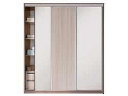 Шкаф-купе 3-х дверный с 2-мя зеркалами 1800х458/600х2200