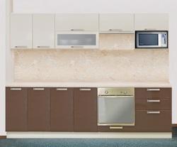 Кухня Престиж со шкафом под микроволновую печь 2200, 2 категория
