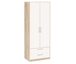 5.011 Шкаф для одежды, Вайт 840х1995х522 мм, Боровичи мебель.