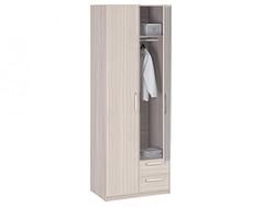 8.021 Z Шкаф 2-х дверный с ящиками с зеркалом 840х2380х540 серия Лотос