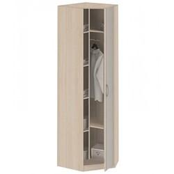 8.05 Z Шкаф для одежды угловой с зеркалом 770х2380х770 серия Лотос