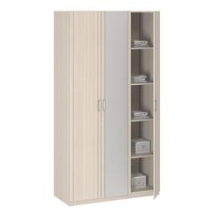 8.03 Z Шкаф для одежды 3-х дверный с зеркалом 1255х2380х540 серия Лотос