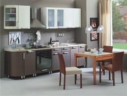 Кухня Классика 2335 с гнутыми фасадами, 2 категория