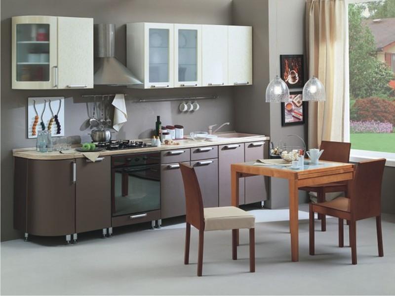Кухня Классика с гнутыми фасадами 2335, 2 категория