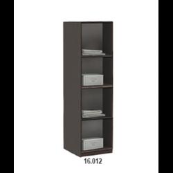 16.012 Шкаф 420х1995х380 серия Дуэт