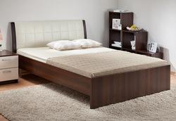 Кровать Гнутая спинка мягкая 1400