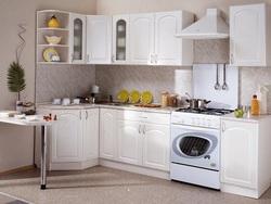 Кухня Классика угловая 1200х2100 h900, 2 категория
