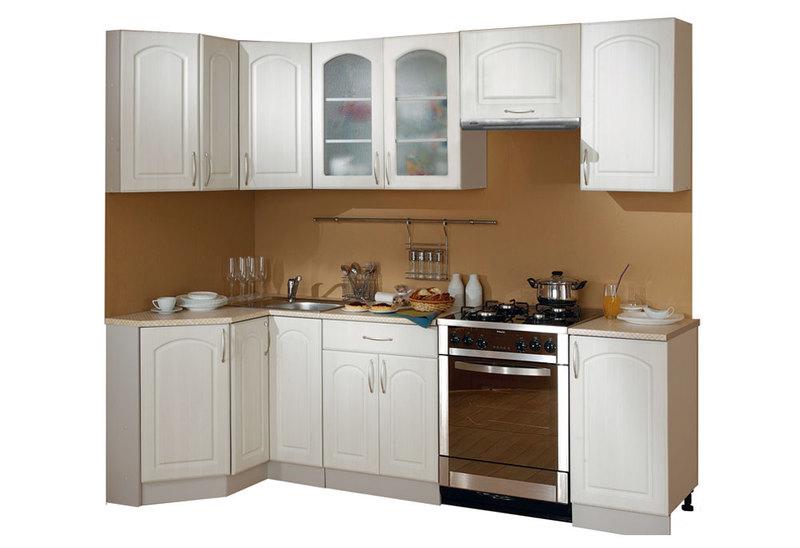 Кухня Классика угловая 1200х1785, 2 категория