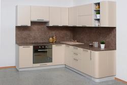 Кухня Классика угловая 1400х2230 с гнутыми фасадами, 2 категория