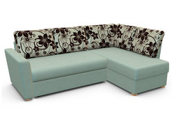 Угловой диван  Виктория 3-1 comfort с ящиком 1500