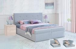 Кровать с подъемным механизмом Дуэт 1800 с блоком независимых пружин