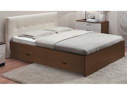 Кровать Люкс Классика с ящиками 1600