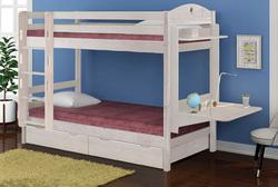 Кровать детская двухъярусная массив с ящиками НОВАЯ (трансформер), без столика ДОСТАВКА БЕСПЛАТНО ПО МОСКВЕ !!!