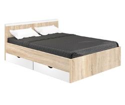Кровать Вайт 900 с ящиками (без матраца) 1000х830х2050 мм, Боровичи мебель.