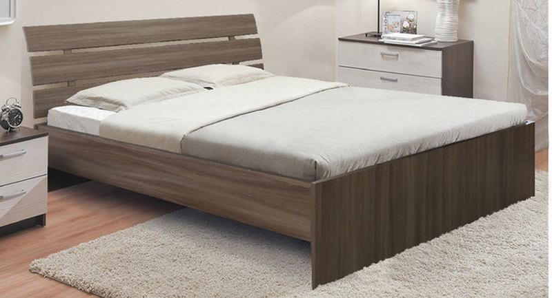 Кровать Гнутая спинка новая 1600