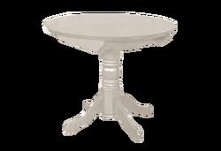 Стол раздвижной круглая крышка (Массив)