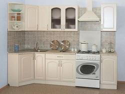Кухня Классика угловая 900х2100, 2 категория