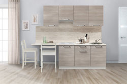 Кухня Симпл 2300 мм, 1 категория, Боровичи мебель