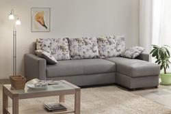 Угловой диван  Лира 1600 с боковинами (еврокнижка)