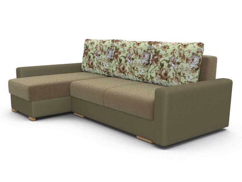 Угловой диван Лира с боковинами Лонг 1600