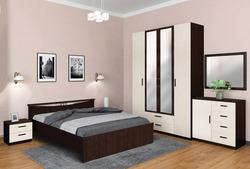 Спальня Лотос 1 в цвете (венге/авола)
