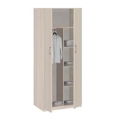 5.24 Шкаф для одежды 2-х дверный 840х1995х380 серия Лотос