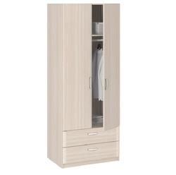 8.023 Шкаф 2-х дверный с ящиками 840х2380х540 серия Лотос