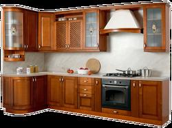 Кухня Массив угловая 1335х2500