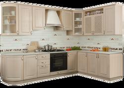 Кухонный гарнитур угловой Массив 1800x2135