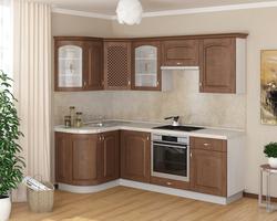 Кухонный гарнитур угловой Массив 1335х1600 h700