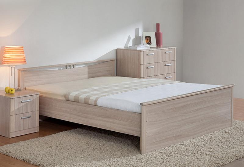 Кровать Мелисса с двумя спинками без ящиков 1400