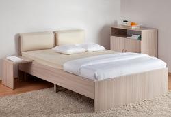 Кровать Мелисса с мягкой спинкой 1600