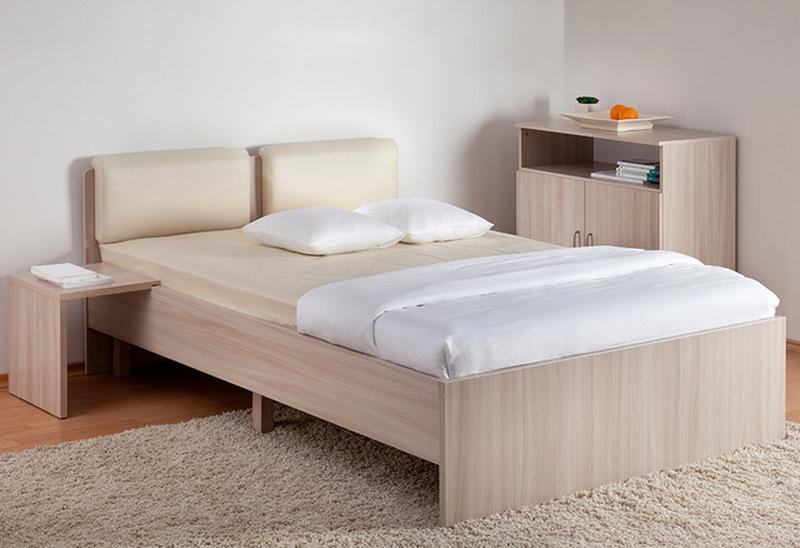 Кровать Мелисса с мягкой спинкой 1400