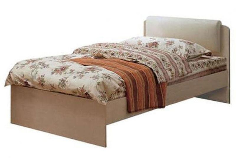 Кровать Мелисса с мягкой спинкой 900