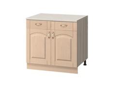 МН-73 Стол с 2-мя ящиками 800Х600Х840, Боровичи мебель
