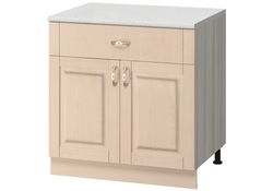 МН-14 Стол с ящиком 600х600х855 без столешницы, Боровичи мебель