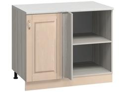 МН-41 правый Стол угловой 1000х600х840 без столешницы, Боровичи мебель