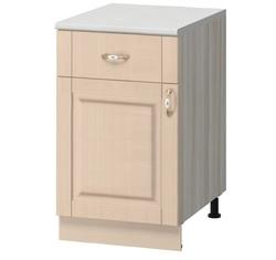 МН-57 Стол с ящиком 400х600х855 без столешницы, Боровичи мебель