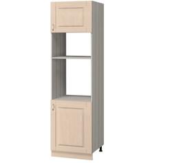 МН-62 Пенал под духовой шкаф и микроволновую печь 600х590х2305, Боровичи мебель