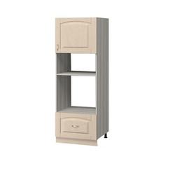 МН-65 Пенал под духовой шкаф и микроволновую печь 600Х590Х2075, Боровичи мебель