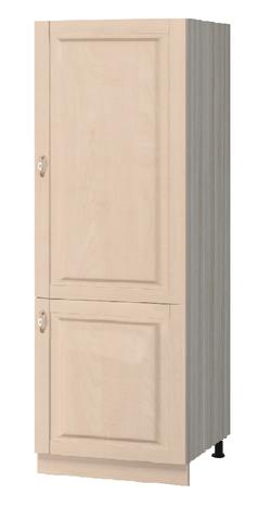 МН-66 Пенал под встраиваемый холодильник 600Х590Х2125, Боровичи мебель
