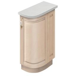 МН-75 правый Стол торцевой 230х540х860 без столешницы, Боровичи мебель