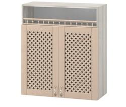 МВ-5 Шкаф с нишей с решеткой 800х320х900, Боровичи мебель