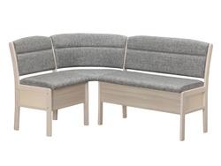 Кухонный угловой диван Этюд облегченный 2-1 с ящиком (1100х1500)